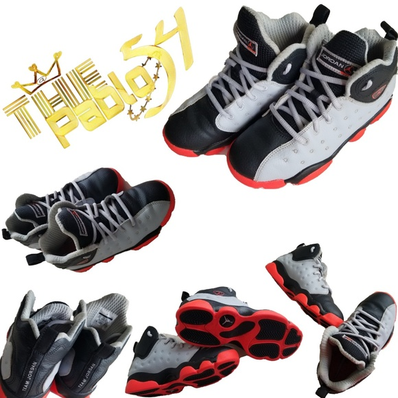 competitive price bd6cf 5812e ... free shipping kids air jordan jumpman team ii sz 2 ada21 685a6